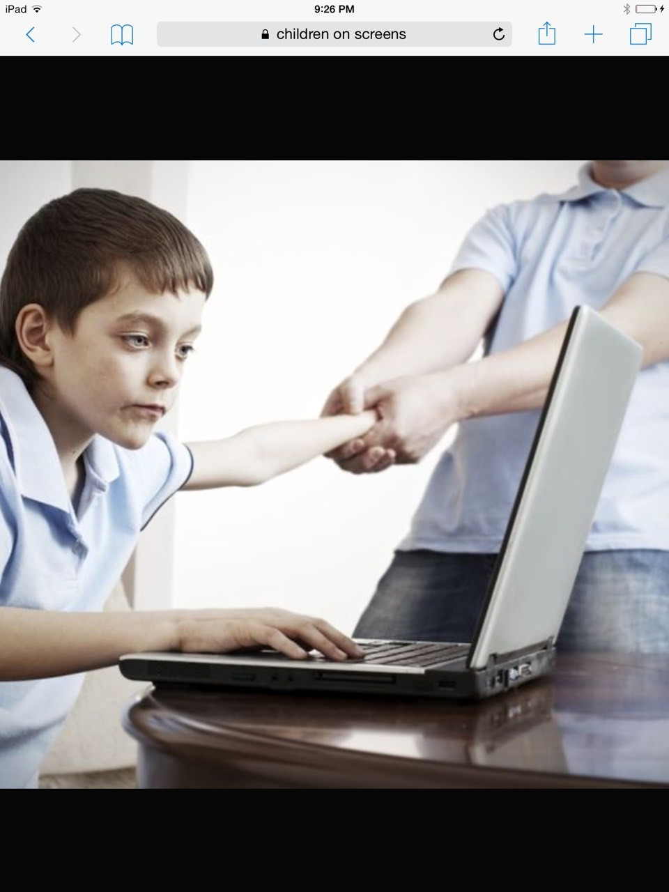 Child takes to much time staring at screen causes extreme overweighting