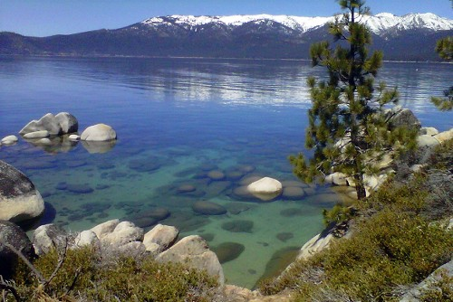Lake Tahoe's famed water gets clearer after all-time low