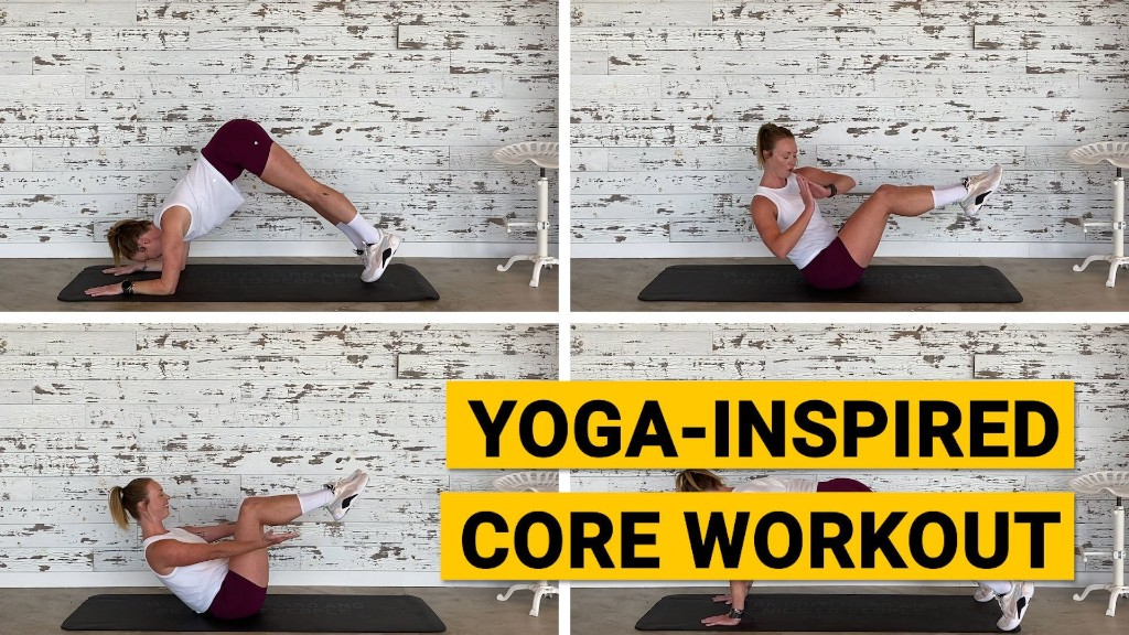Yoga-Inspired Core Workout