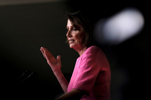 House Speaker Pelosi urges Trump family 'intervention' with president