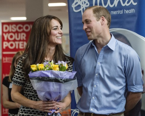 William and Kate Mark World Mental Health Day: Pictures