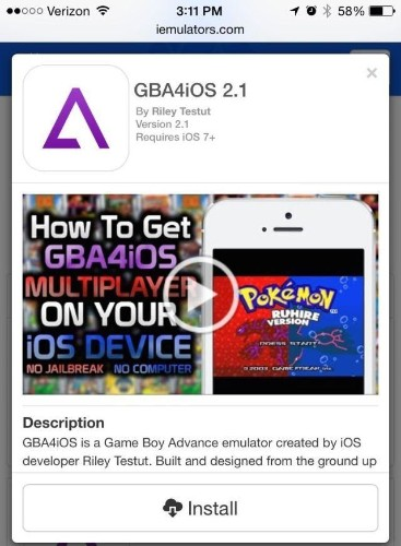 The best Gameboy Advance emulator for iOS is back, no jailbreak required