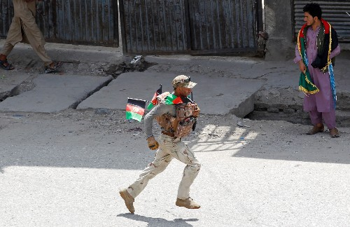 Afghanistan blasts wound dozens on Independence Day