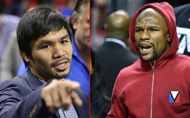 Manny Pacquiao and Floyd Mayweather agree £160m Las Vegas mega-fight