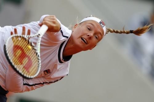 Tennis: Bertens retires from French Open second-round match