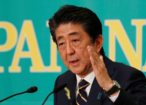 Japanese firms want Abe to keep big majority in upper house election: poll