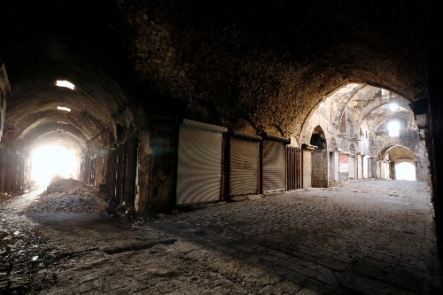 Aleppo's scattered business owners have yet to return home