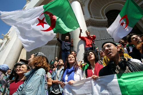 In Algeria, conservatives weigh in against pressure for Western-style democracy