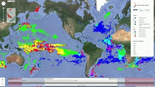 Google Helps Map Illegal Fishing
