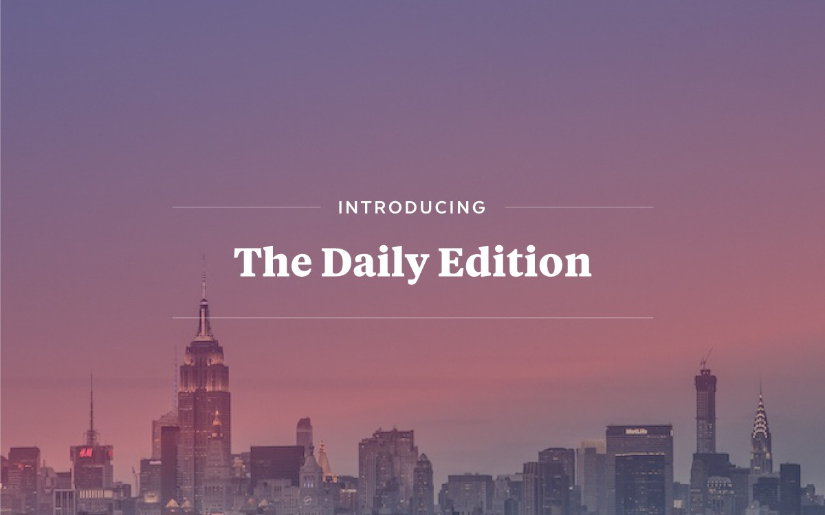 Give Us a Few Flips, And We'll Give You the World…in The Daily Edition