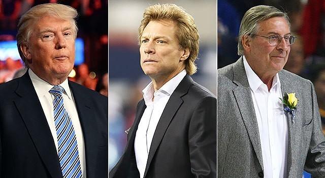 Report: Bon Jovi's group named as finalist to buy Bills