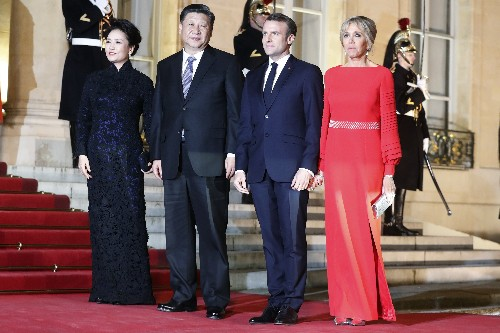 China's Xi sees honors, Airbus deal in state visit to France
