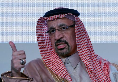 Saudi Falih optimistic on continued commitment to OPEC+ oil supply cut