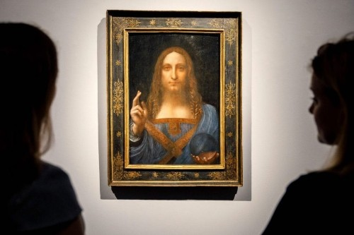 Long-lost da Vinci painting fetches $450 million, a world record