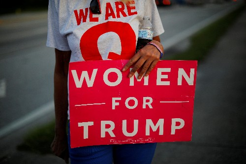 Trump campaign launches effort to sway women voters