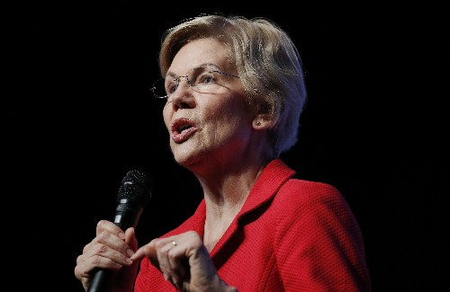 Warren unveils a plan to combat white nationalist crime