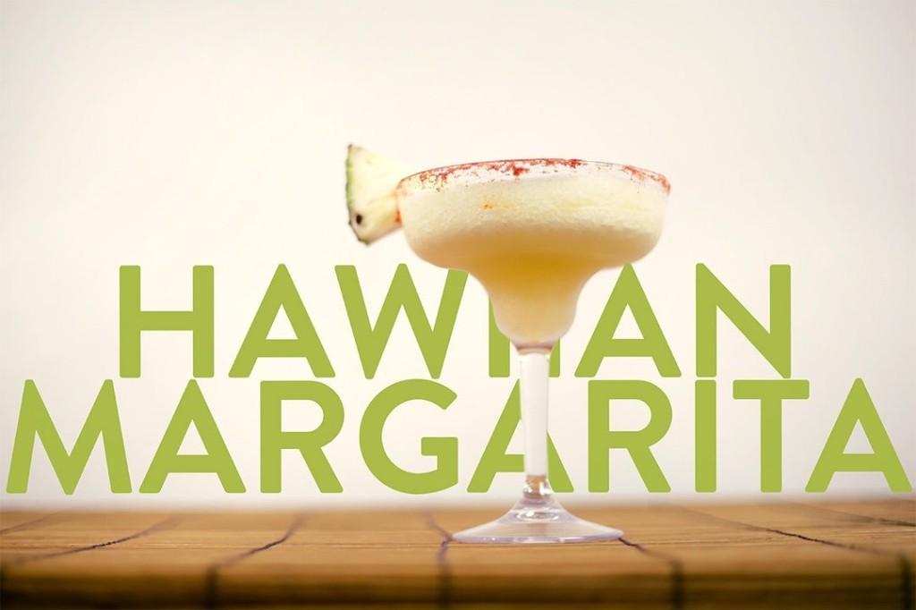 Hawaiian Margarita Frozen Drink Recipe
