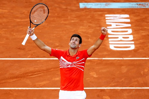Djokovic ready to fire at Roland Garros as Grand Slam landmark beckons