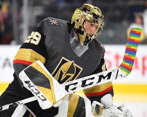 Marchand, Bruins extend perfect start in Vegas