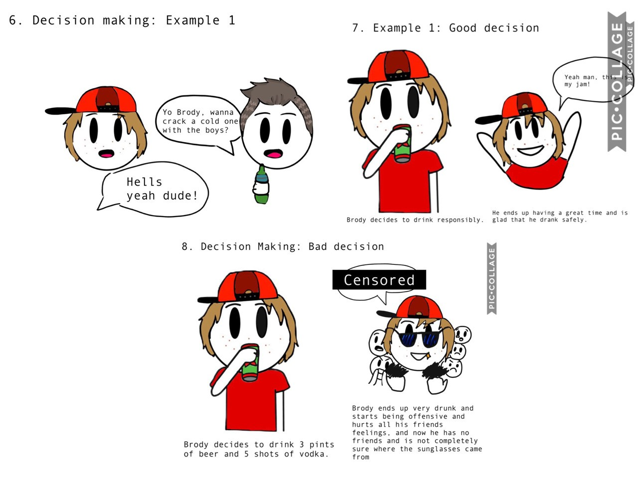 More comics that I made for health!
