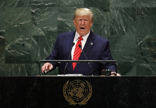 With Iran on his mind, Trump to speak before U.N. General Assembly