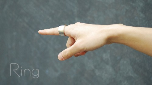The Ring Input Device Puts Gesture Control And Home Automation On Your Finger