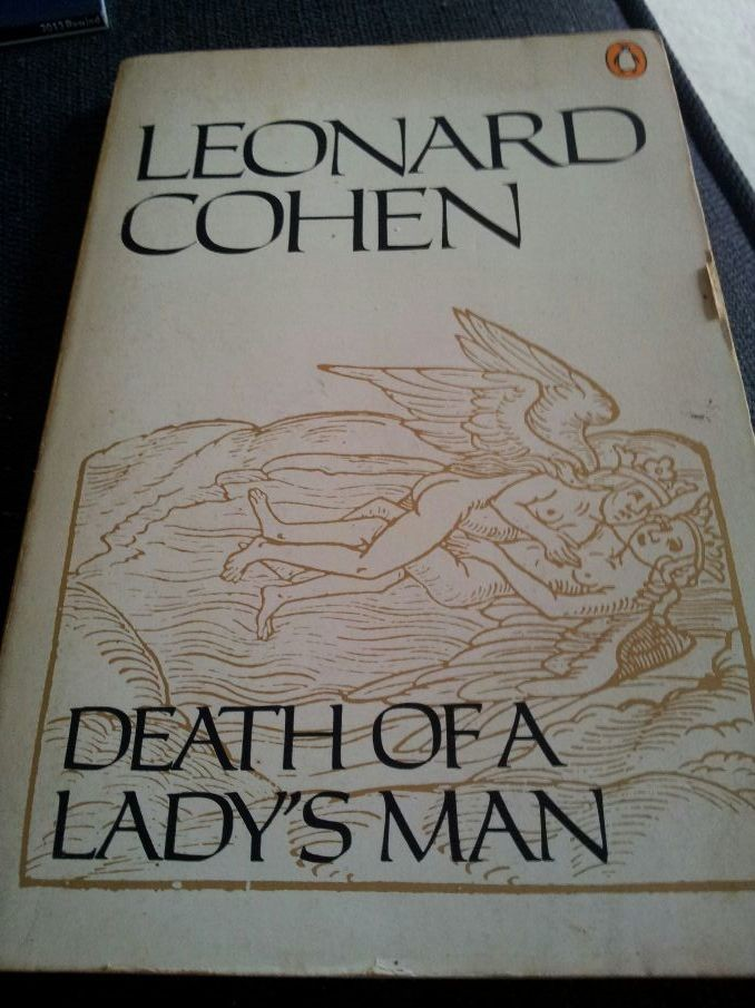 Sleeve from New skin for the old ceremony but title death of a lady's man, my fave Cohen