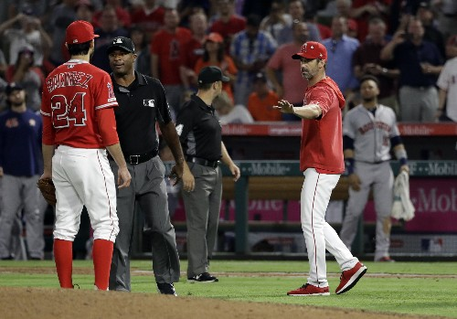 Angels beat Astros 7-2 for 5th straight W; Marisnick plunked