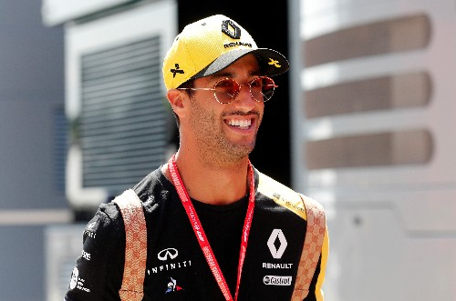 Ricciardo disqualified from Singapore Grand Prix qualifying