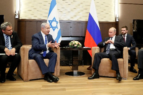 Russia raps Netanyahu's Jordan Valley plan before Putin meeting