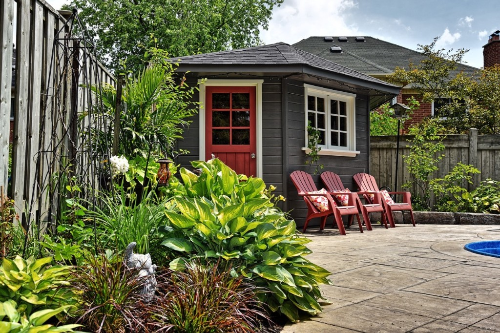 Backyard Oasis - cover