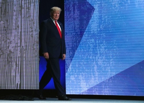 White House unveils list of leaders to meet with President Trump at forum in Davos