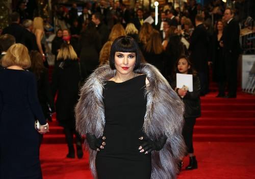 On the Red Carpet at BAFTA: Pictures