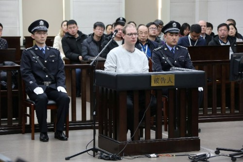 China brushes off international concern over death sentence for Canadian