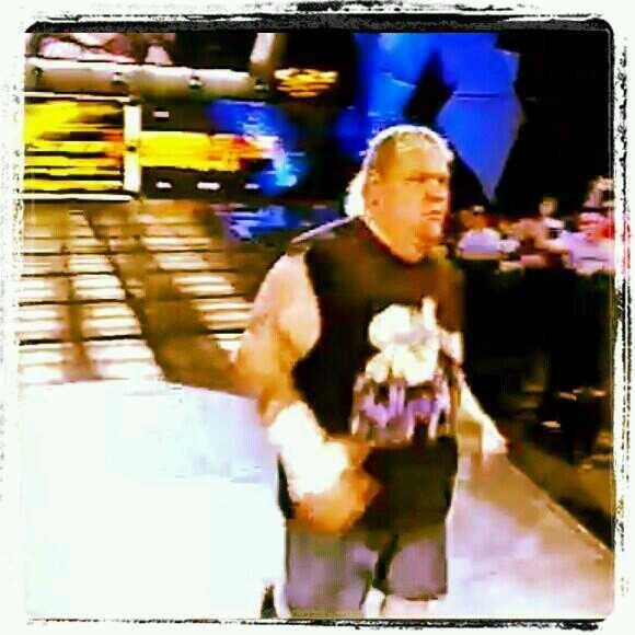 Hitting the ring on #RAW #AxlRotten