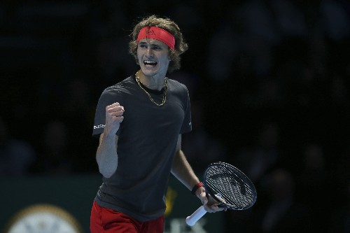 Zverev beats Djokovic in 2 sets to win ATP Finals title
