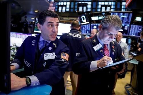 Stocks edge up, oil drops as China virus worries abate