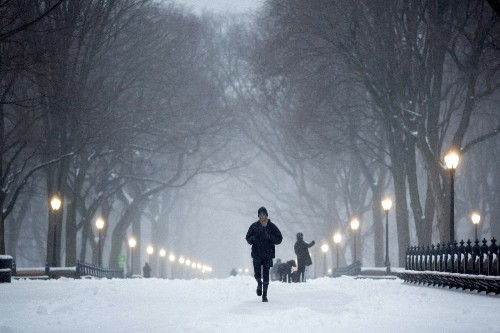 Winter Storm Slams into the Northeast: Pictures