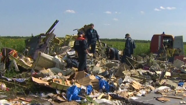 Ukraine says Russian officer pushed the button to shoot down MH17