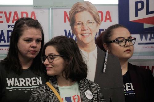 Democrat Warren, worried campaign will run out of cash, taps $3 million loan