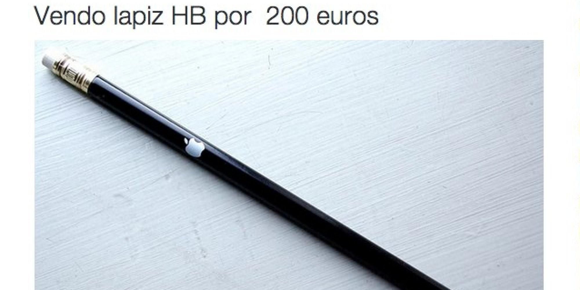 El cachondeo en Twitter con el nuevo lápiz de Apple
