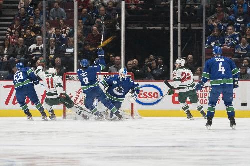 Galchenyuk nets tying, shootout goals in Wild win
