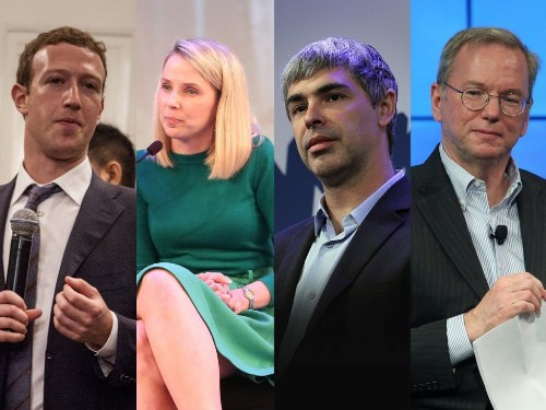 Mark Zuckerberg, Marissa Mayer, and Eric Schmidt all just snubbed Obama