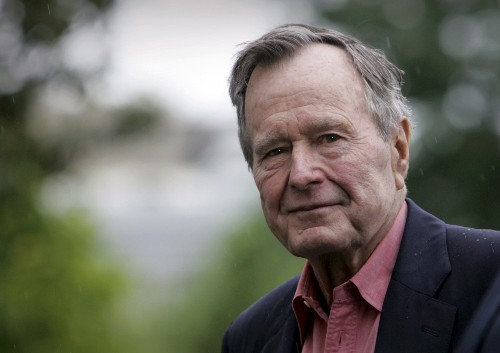 The Latest: Jimmy Carter praises life of George H.W. Bush