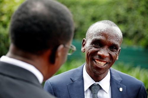 Athletics: Kipchoge to defend Olympic marathon title - if selected