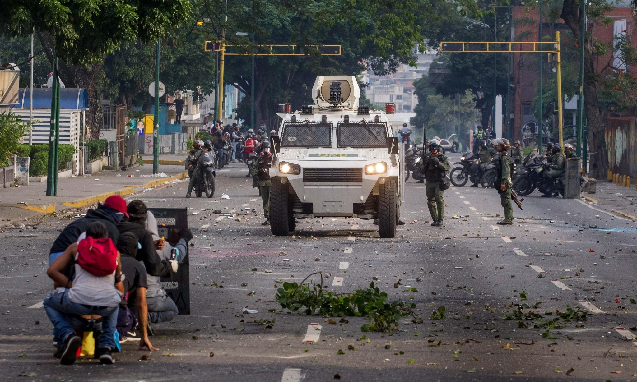 Deaths and injuries reported amid 'mother of all marches' in Venezuela