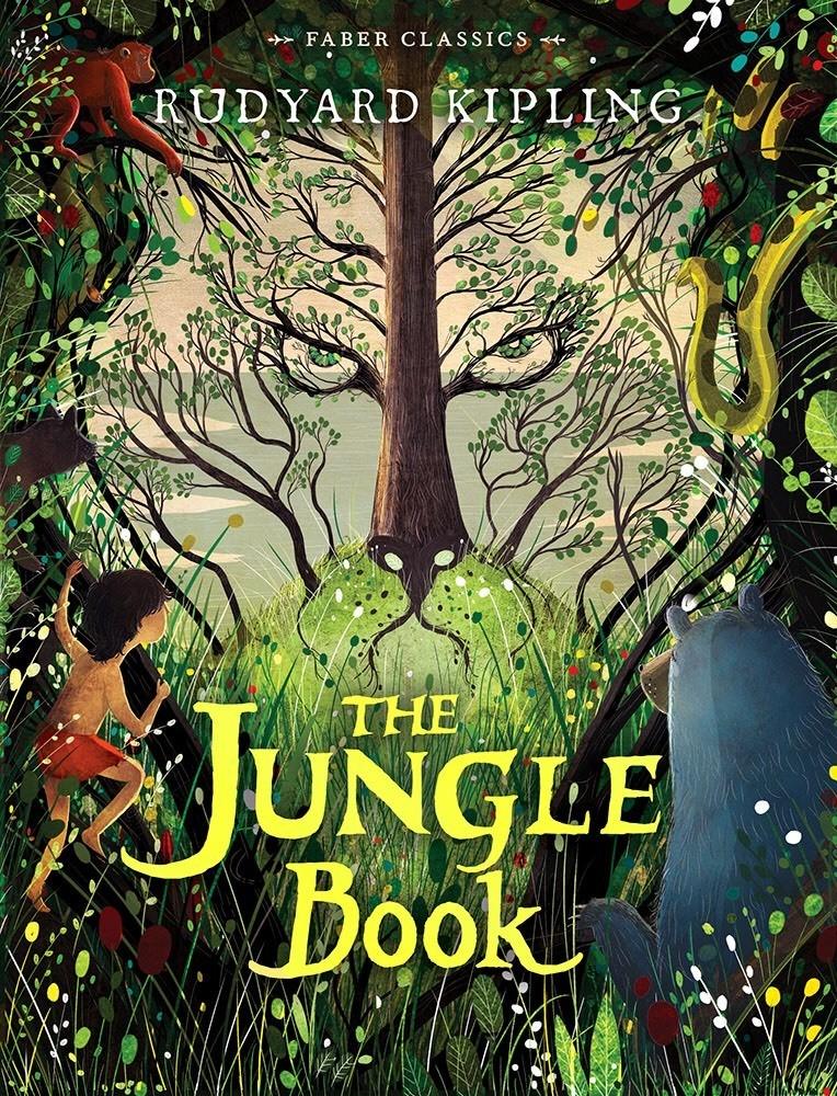 Jungle Book - Magazine cover