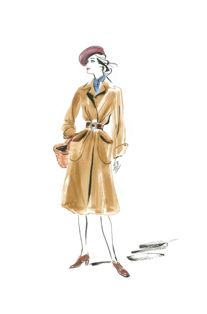 Marianne - Mushrooming Coat