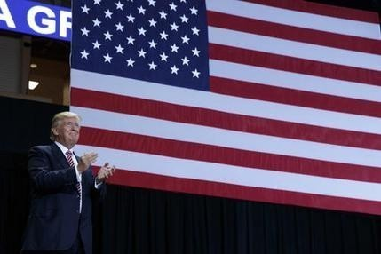 The Latest: Trump: I can stop raising cash for Republicans