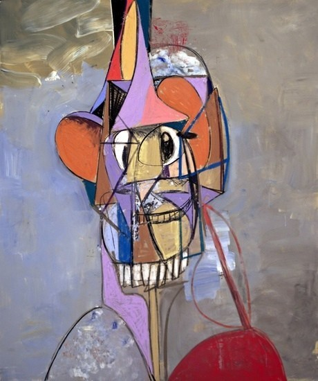 George Condo: 'I was delirious. Nearly died'